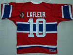 Montreal Canadiens #10 Guy Lafleur Throwback Red Jersey