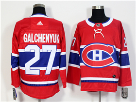 Montreal Canadiens #27 Alex Galchenyuk 2017/18 Red Jersey