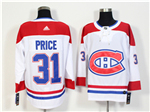Montreal Canadiens #31 Carey Price White Jersey
