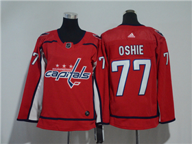 Washington Capitals #77 T.J. Oshie Youth Red Jersey
