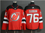 New Jersey Devils #76 P.K. Subban Red Jersey
