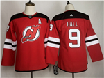 New Jersey Devils #9 Taylor Hall Women's Red Jersey