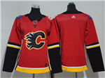 Calgary Flames Women's Home Red Team Jersey