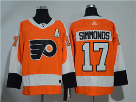 Philadelphia Flyers #17 Wayne Simmonds Orange Jersey
