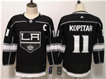 Los Angeles Kings #11 Anze Kopitar Youth Home Black Jersey