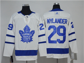 Toronto Maple Leafs #29 William Nylander 2017/18 White Jersey
