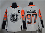 Edmonton Oilers #97 Connor McDavid White 2018 NHL All-Star Game Pacific Division Jersey