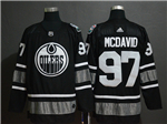 Edmonton Oilers #97 Connor McDavid Black 2019 All Star Game Jersey
