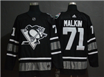 Pittsburgh Penguins #71 Evgeni Malkin Black 2019 All Star Game Jersey