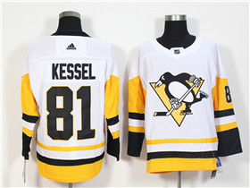 Pittsburgh Penguins #81 Phil Kessel White Jersey
