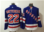 New York Rangers #22 Kevin Shattenkirk Home Royal Blue Jersey