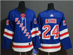 New York Rangers #24 Kaapo Kakko Women's Home Royal Blue Jersey