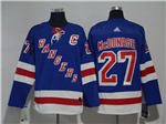 New York Rangers #27 Ryan McDonagh Home Royal Blue Jersey