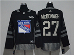 New York Rangers #27 Ryan McDonagh Black 100th Anniversary Jersey