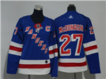 New York Rangers #27 Ryan McDonagh Women's Home Royal Blue Jersey
