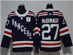 New York Rangers #27 Ryan McDonagh Navy 2018 Winter Classic Jersey