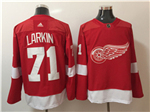 Detroit Red Wings #71 Dylan Larkin Red Jersey
