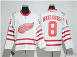 Detroit Red Wings #8 Justin Abdelkader White 2017 Centennial Classic Jersey