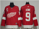 Detroit Red Wings #9 Gordie Howe 2017/18 Red Jersey