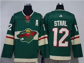 Minnesota Wild #12 Eric Staal 2017/18 Green Jersey