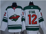 Minnesota Wild #12 Eric Staal White Jersey