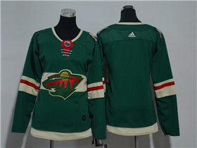 Minnesota Wild Women's Green Team Jersey