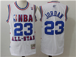 2003 NBA All-Star Game Eastern Conference #23 Michael Jordan White Hardwood Classic Jersey