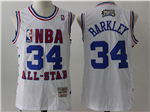 2003 NBA All-Star Game Eastern Conference #34 Charles Barkley White Hardwood Classic Jersey