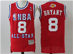 2003 NBA All-Star Game Western Conference #8 Kobe Bryant Red Hardwood Classic Jersey