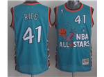 1996 NBA All-Star Game Eastern Conference #41 Glen Rice Teal Hardwood Classic Jersey