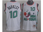 1996 NBA All-Star Game Western Conference #10 Charles Barkley White Hardwood Classic Jersey