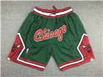 Chicago Bulls Just Don Green Basketball Shorts