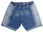 Los Angeles Lakers Just Don Blue Basketball Shorts