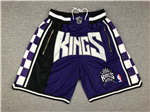Sacramento Kings Just Don Purple Basketball Shorts