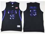 Team USA #35 Kevin Durant Black Jersey