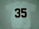 Houston Colt.45s #35 Joe Morgan 1964 Throwback Cream Jersey
