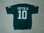 Baylor Bears #10 Robert Griffin III Youth Green Jersey