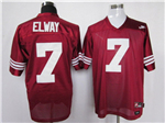 Stanford Cardinal #7 John Elway Red College Football Jersey