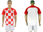 Croatia 2018 World Cup Home Red/White Soccer
