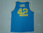 NCAA UCLA Bruins #42 Kevin Love Blue Jersey
