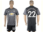 Manchester United F.C. 2017/18 Away Soccer Jersey with #22 Mkhitaryan Printing