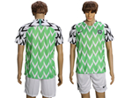 Nigeria 2018 World Cup Home Teal Soccer Jersey
