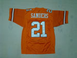 Oklahoma State Cowboys #21 Barry Sanders Throwback Youth Orange Jersey