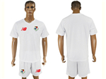 Panama 2018 World Cup Away White Soccer Jersey