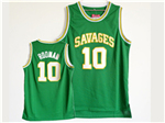 NCAA Southeastern Oklahoma State Savage Storm #10 Dennis Rodman Green College Basketball Jersey