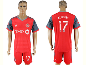 Toronto FC 2017/18 Home Red Jersey with #17 Altidore Printing