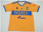 Tigres UANL 2017/18 Home Yellow Soccer Jersey