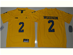 Michigan Wolverines #2 Charles Woodson Gold College Football Jersey