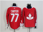 Team Canada 2016 World Cup #77 Jeff Carter Red Jersey