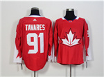 Team Canada 2016 World Cup #91 John Tavares Red Jersey